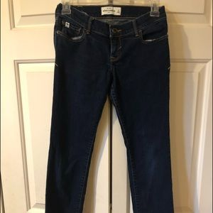 Abercrombie girls jeans -size 14 slim (2 pair)